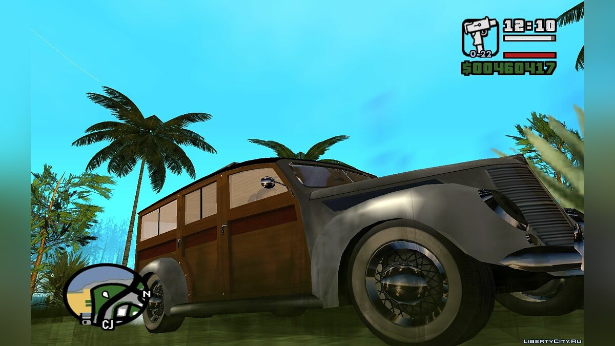 1937 Smith Deluxe Station Wagon из Mafia II v.2 для GTA San Andreas