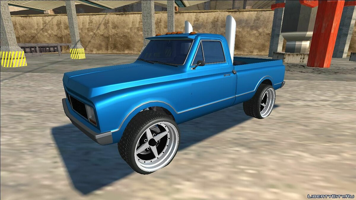Машина GTA 5 Declasse Yosemite Lifted Truck для GTA San Andreas