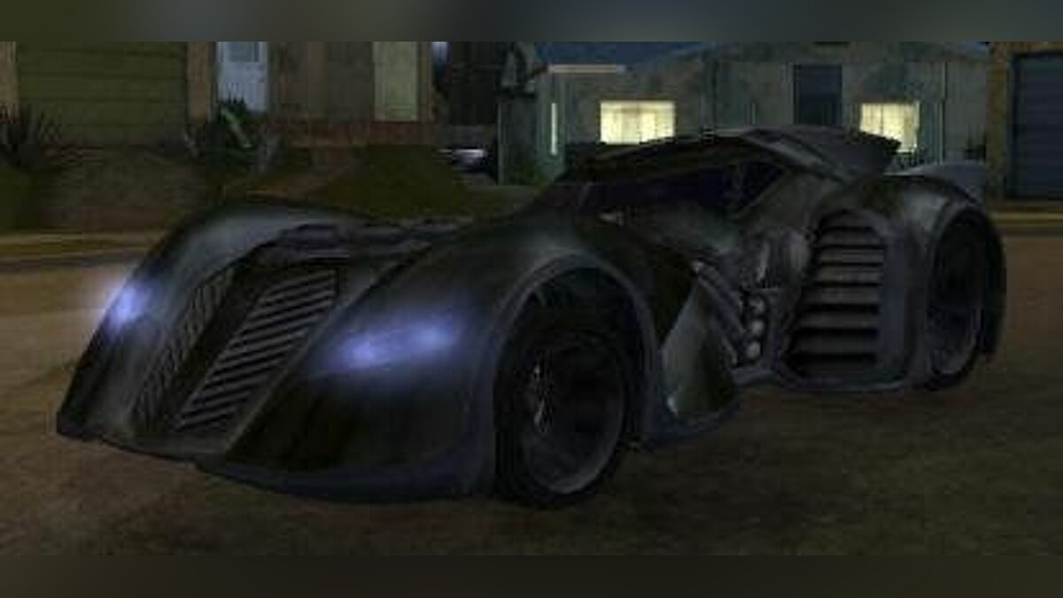 Batman Arkham Asylum - Car для GTA San Andreas