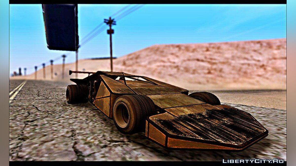 GTA V Bf Buggy Ramp (DLC Import/Export) для GTA San Andreas