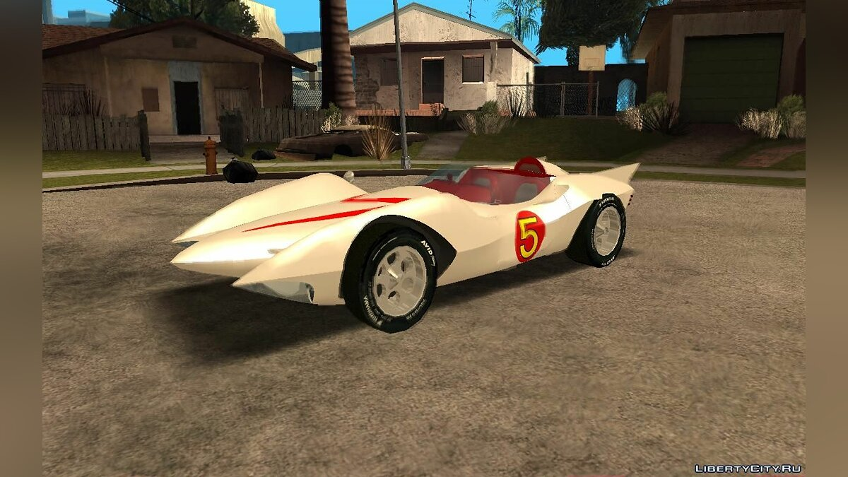 Mach 5 (a.k.a. Speed Racer) для GTA San Andreas