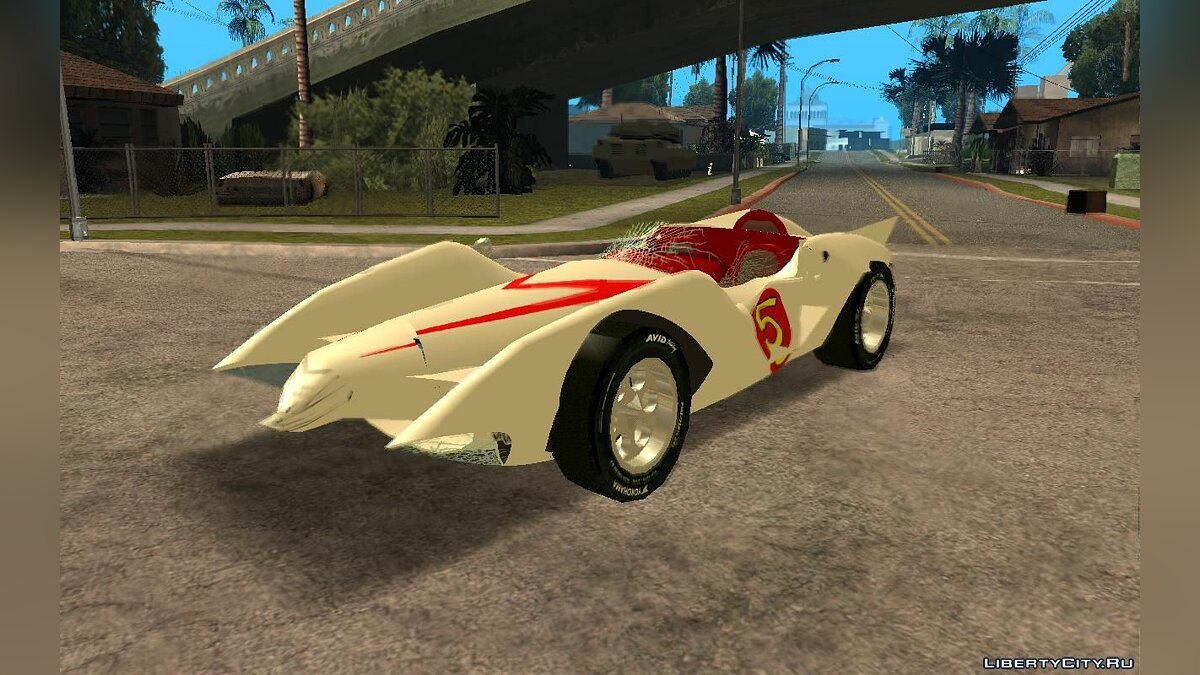 Mach 5 (a.k.a. Speed Racer) для GTA San Andreas - скриншот #3