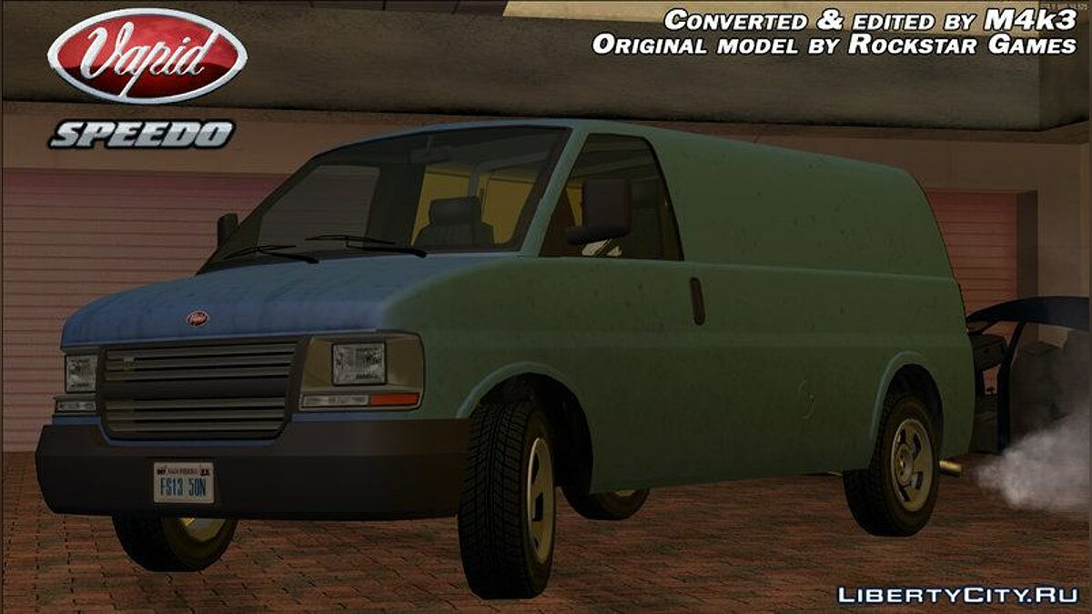 Vapid Speedo для GTA San Andreas