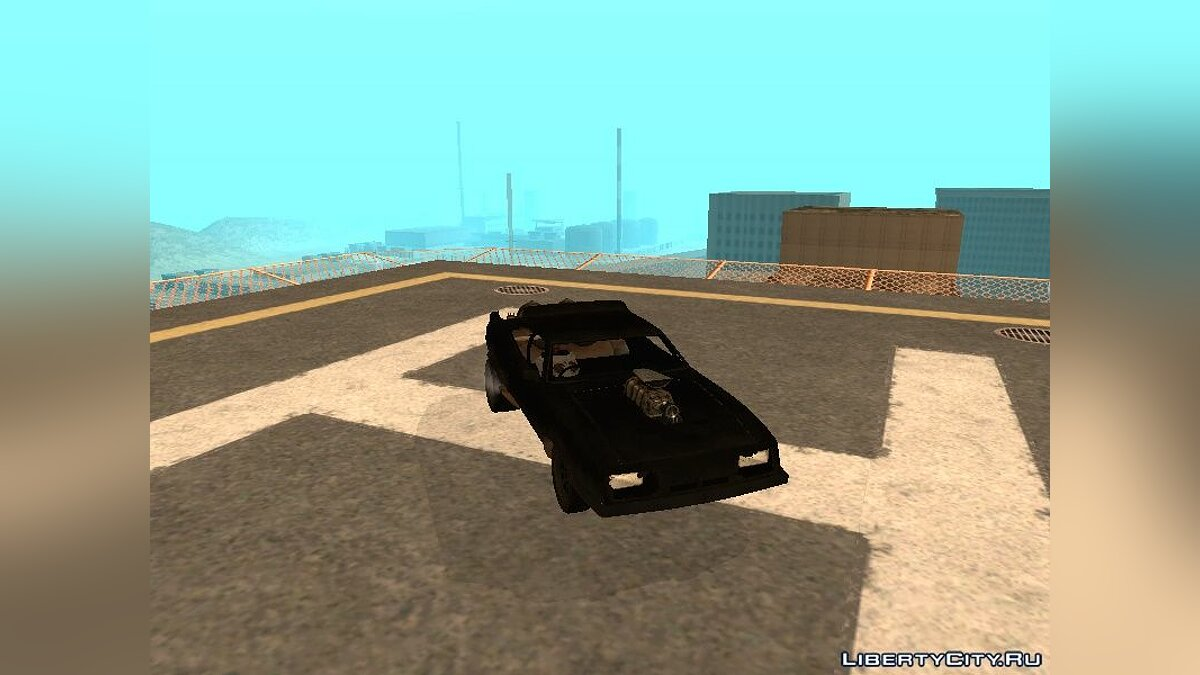 Max Interceptor (From Mad Max: The game) для GTA San Andreas