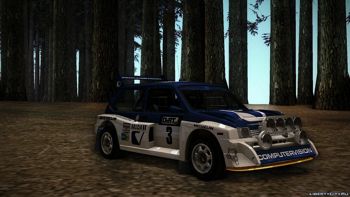 MG Metro 6R4 Group B для GTA San Andreas