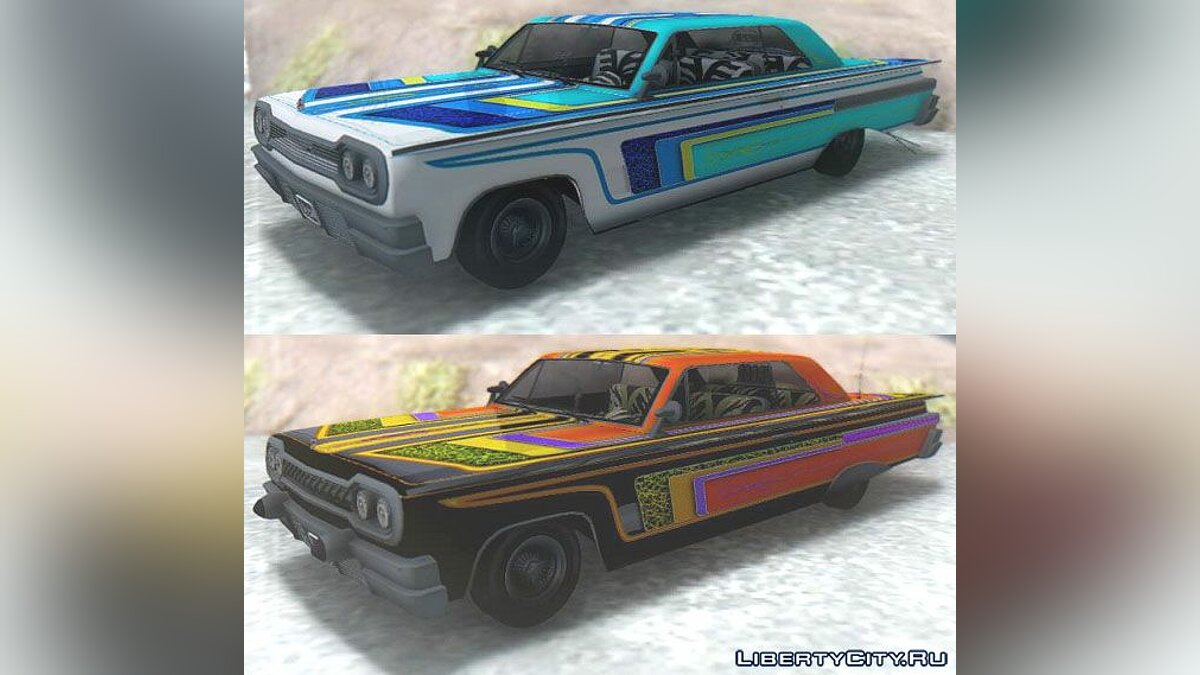 GTA V Declasse Clean Voodoo Custom для GTA San Andreas