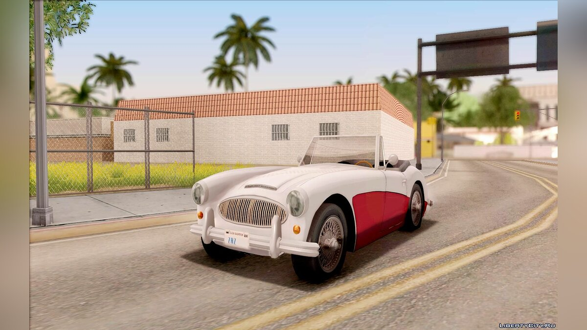 Austin Healey 3000 Black Revel для GTA San Andreas