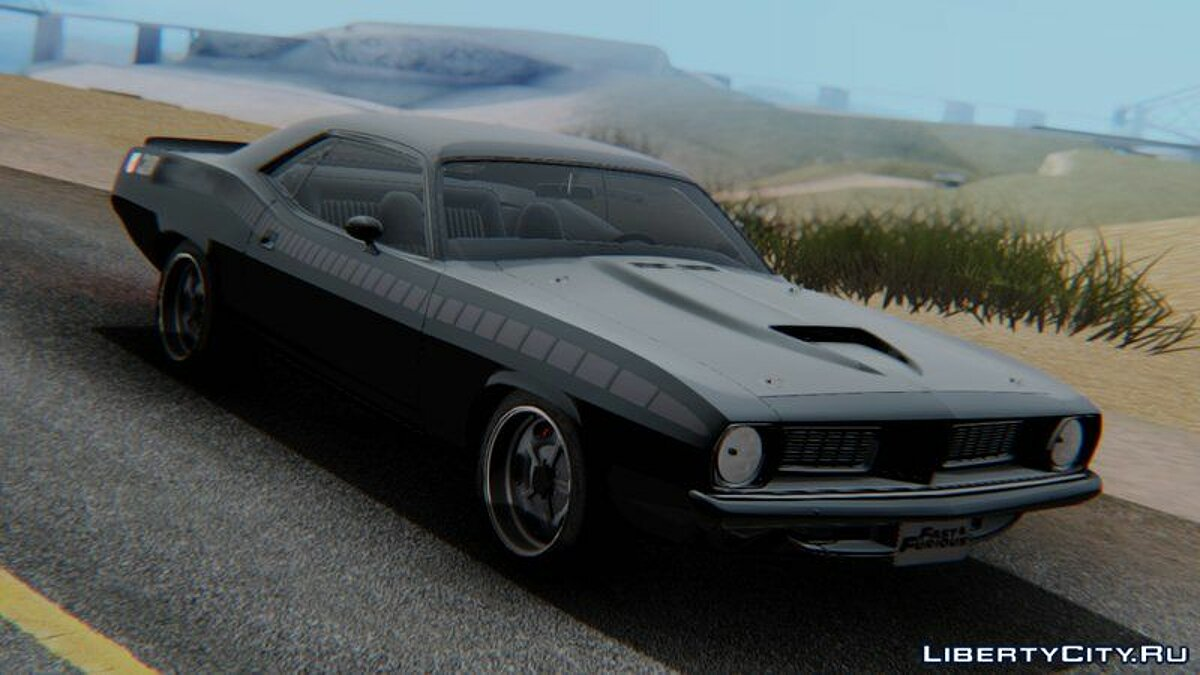 Машина Fast And Furious Letty's Plymouth Cuda для GTA San Andreas