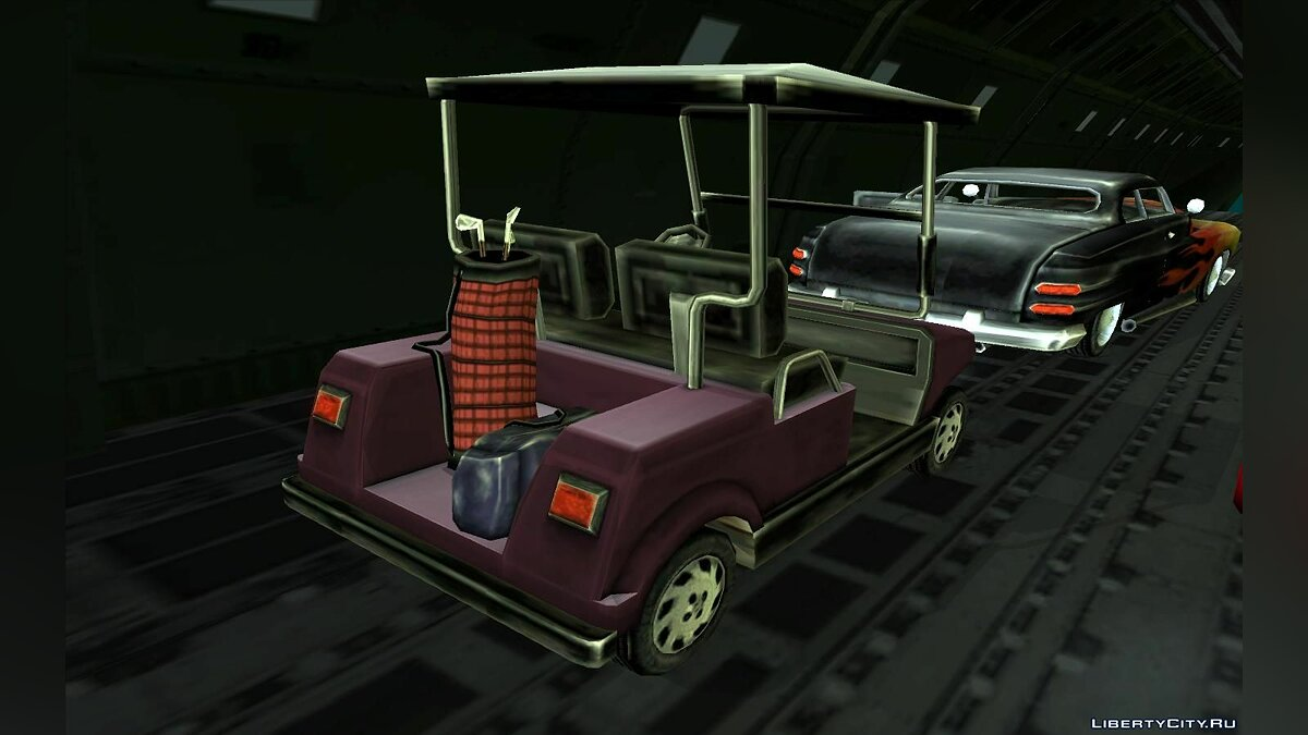 Caddy from Vice City для GTA San Andreas - скриншот #3