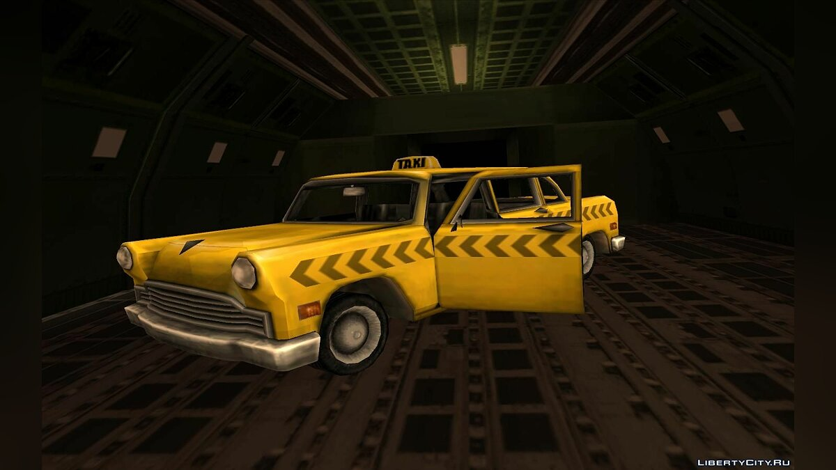 Cabbie from Vice City для GTA San Andreas