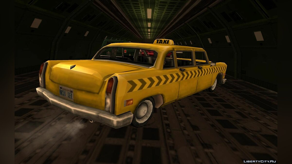 Cabbie from Vice City для GTA San Andreas - скриншот #4