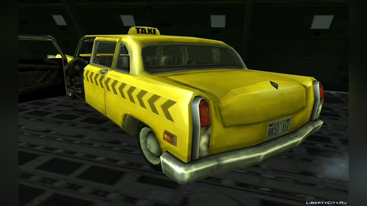 Cabbie from Vice City для GTA San Andreas - скриншот #2