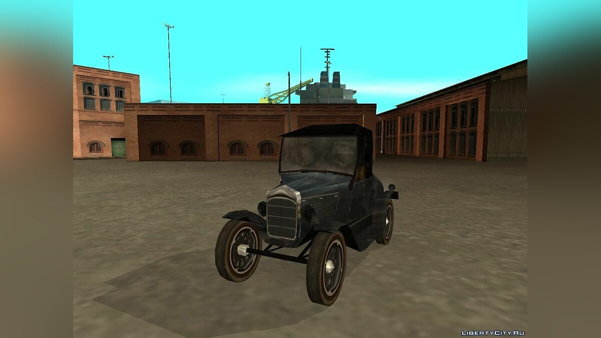 Bolt Ace Runabout для GTA San Andreas