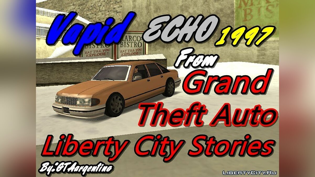 Vapid Echo HD из GTA Liberty City Stories для GTA San Andreas