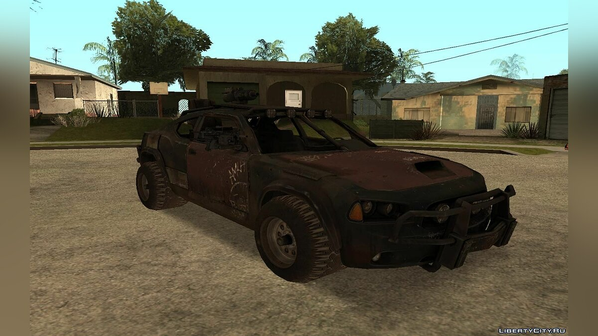 "Charger from ""Ravaged"" для GTA San Andreas"