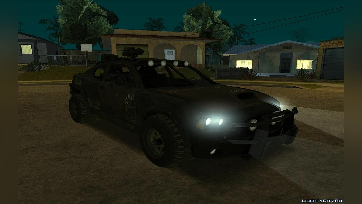 "Charger from ""Ravaged"" для GTA San Andreas - скриншот #3"