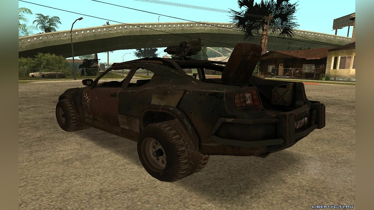 "Charger from ""Ravaged"" для GTA San Andreas - скриншот #4"