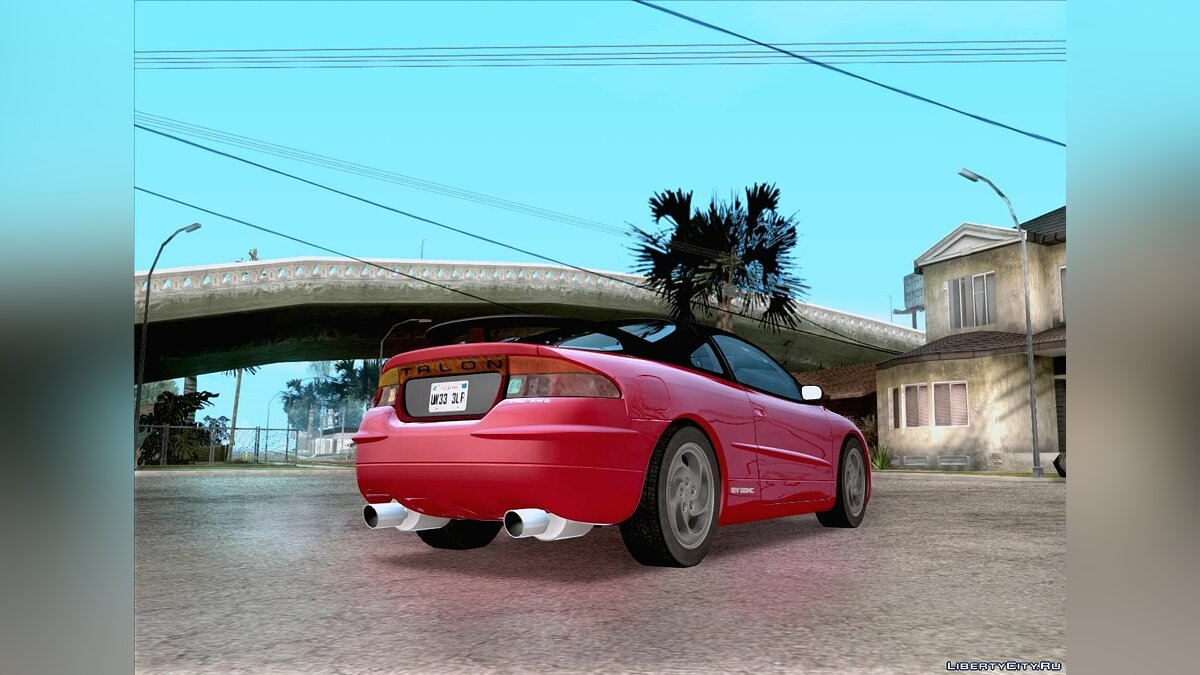 Eagle Talon TSi AWD 1998 для GTA San Andreas - скриншот #2