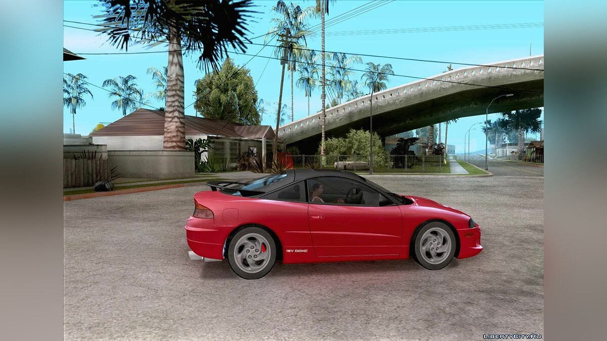 Eagle Talon TSi AWD 1998 для GTA San Andreas - скриншот #4
