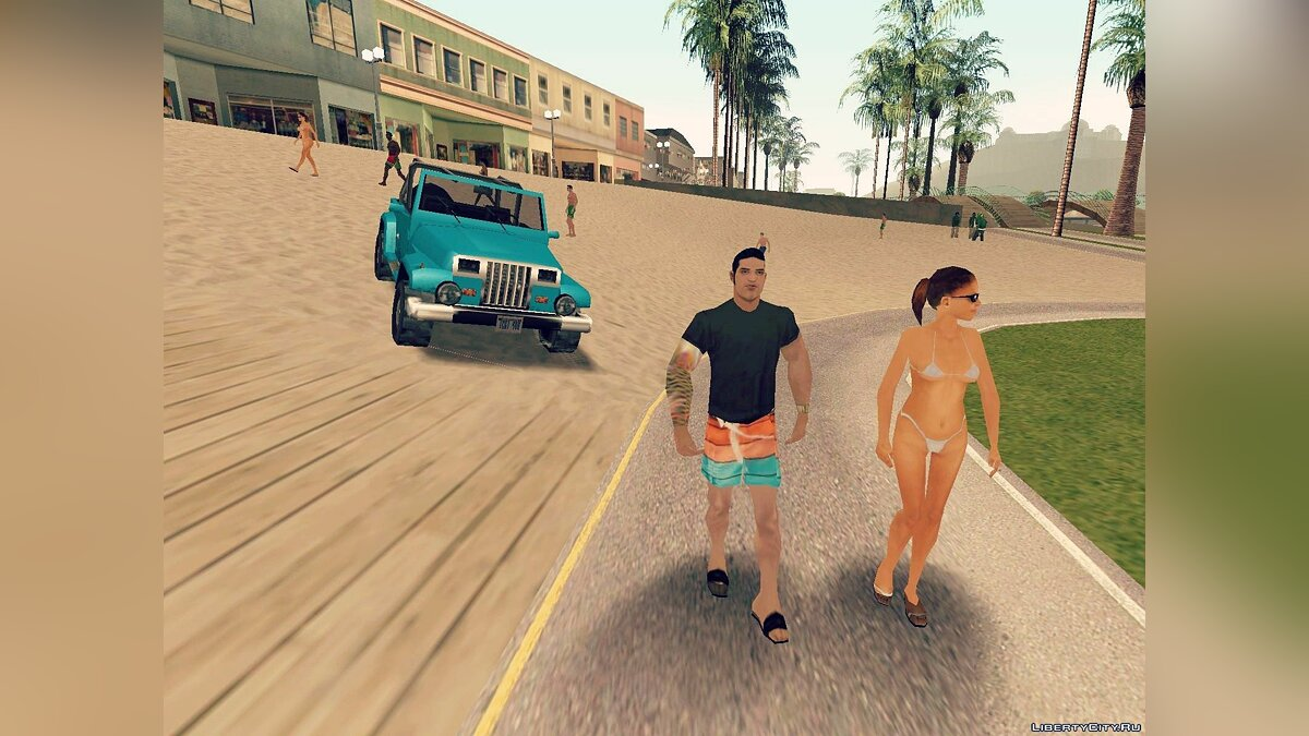 Beach Bum Pack [GTA SA edition] для GTA San Andreas - скриншот #6