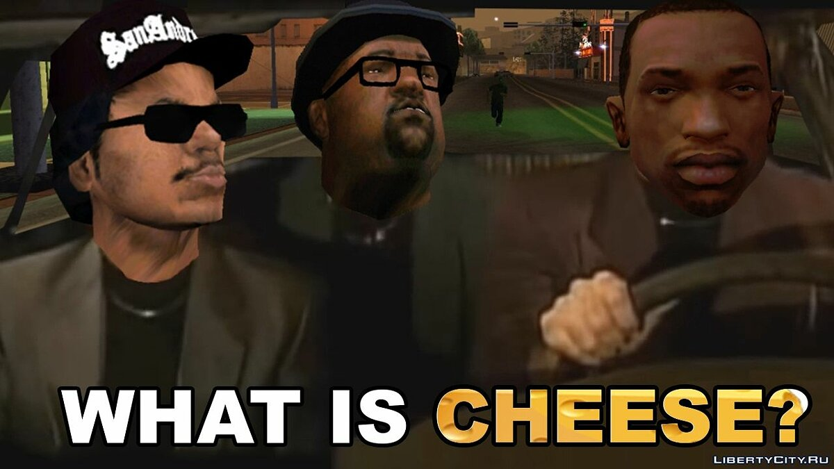Видео What Is Cheese? для GTA San Andreas