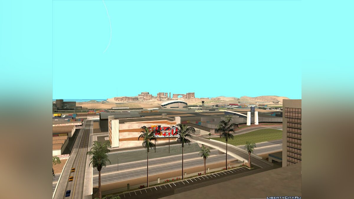 Мод 10x Increased View Distance для GTA San Andreas
