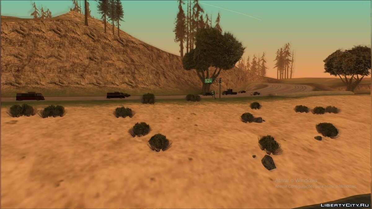 Мод San Andreas Procedural Update для GTA San Andreas