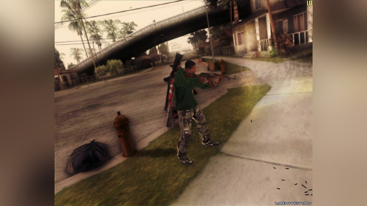 Reality setting of guns v.2 для GTA San Andreas