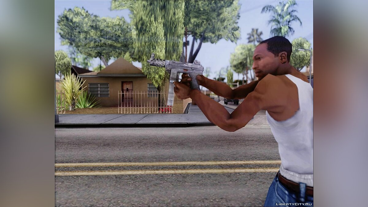 Weapon.dat By Klayman177 для GTA San Andreas