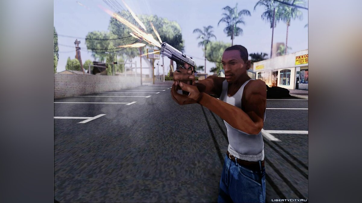 Weapon.dat By Klayman177 для GTA San Andreas - скриншот #4