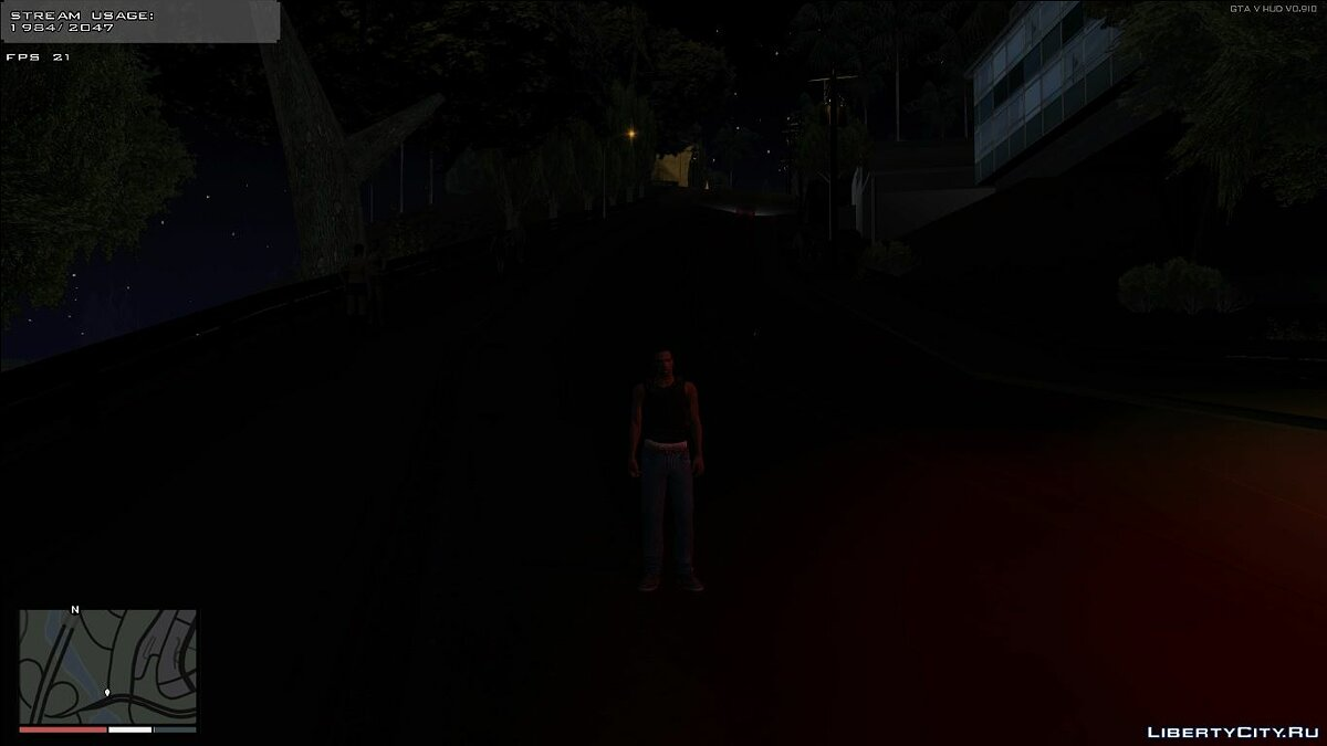 ��од Timecyc Dark Nights (24h TimeCycle) для GTA San Andreas