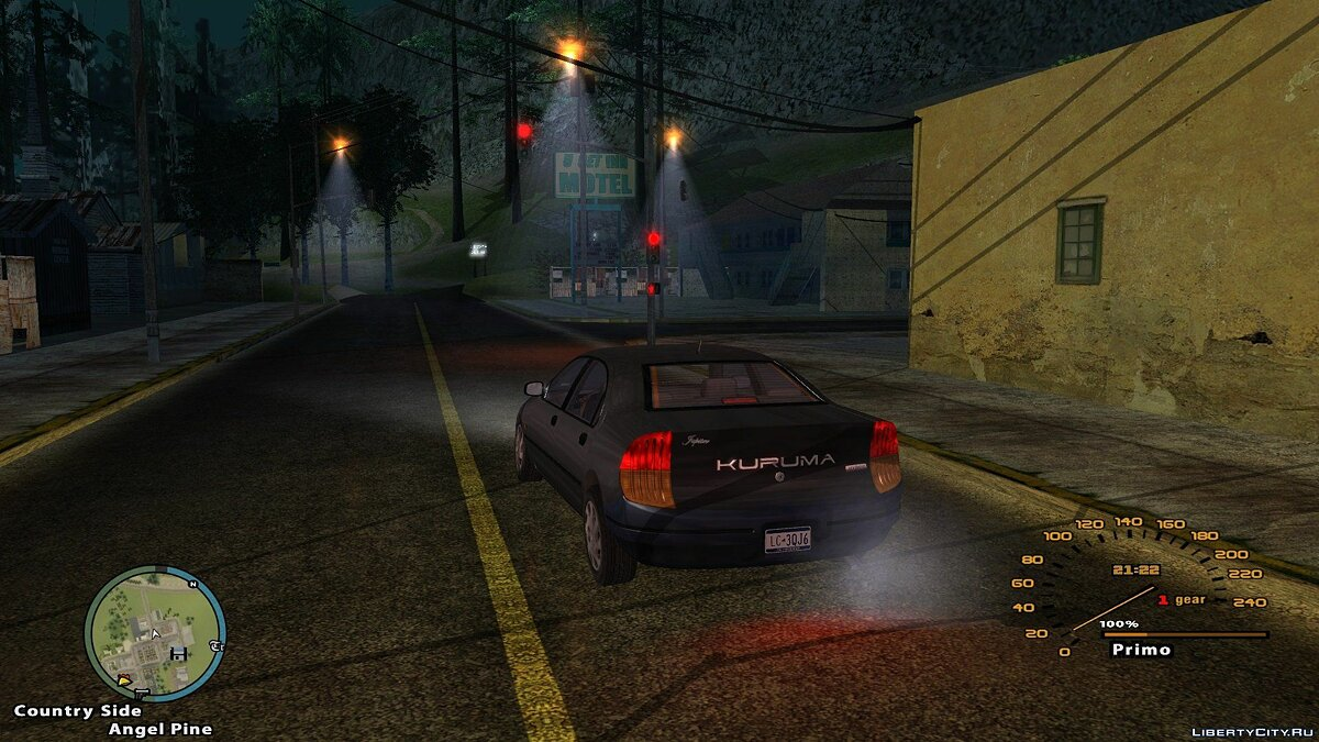Improved Lamppost Lights для GTA San Andreas