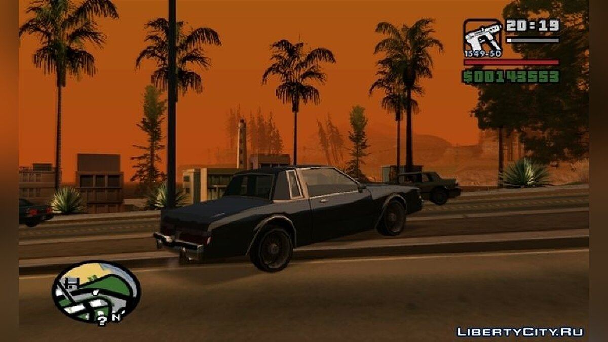 San Andreas GFX PS2 TO PC для GTA San Andreas