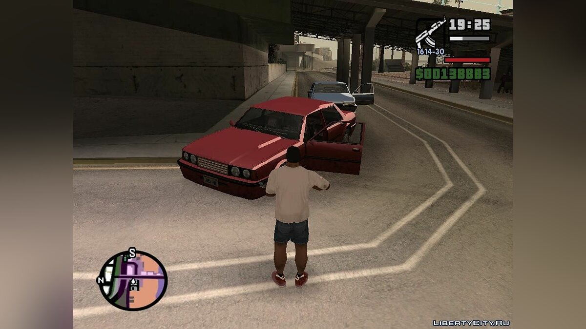 ��од San Andreas GFX PS2 TO PC для GTA San Andreas