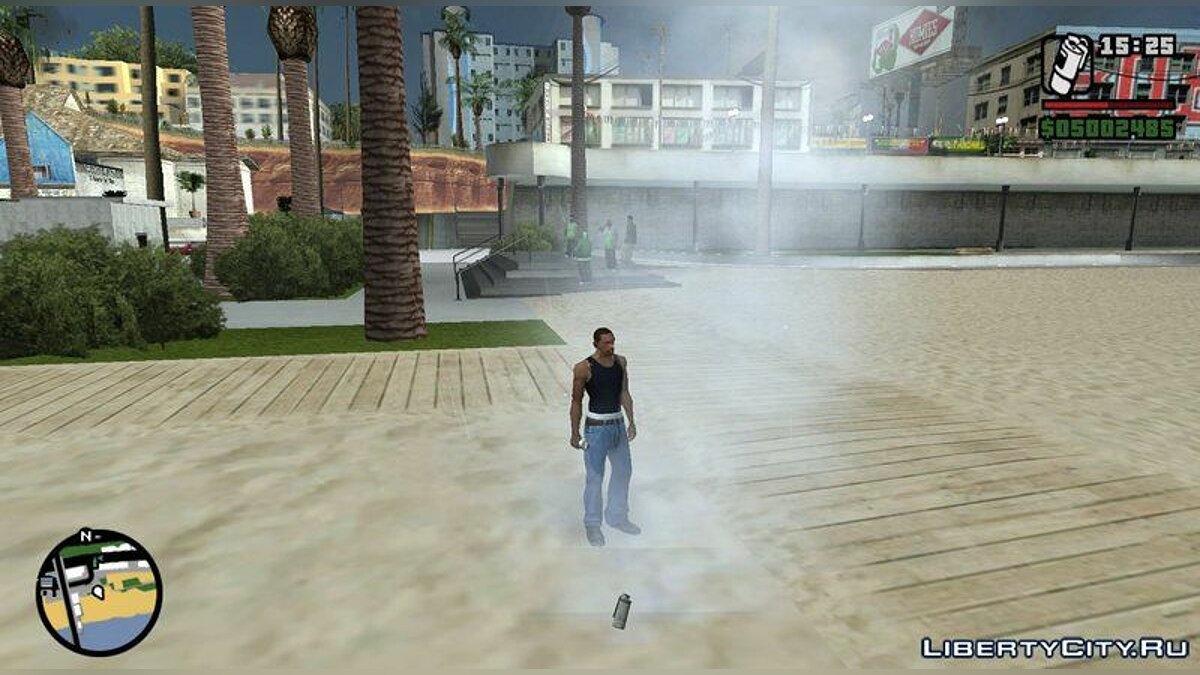 Мод Overdose Effects - Unofficial HD Retexture 2.0 для GTA San Andreas