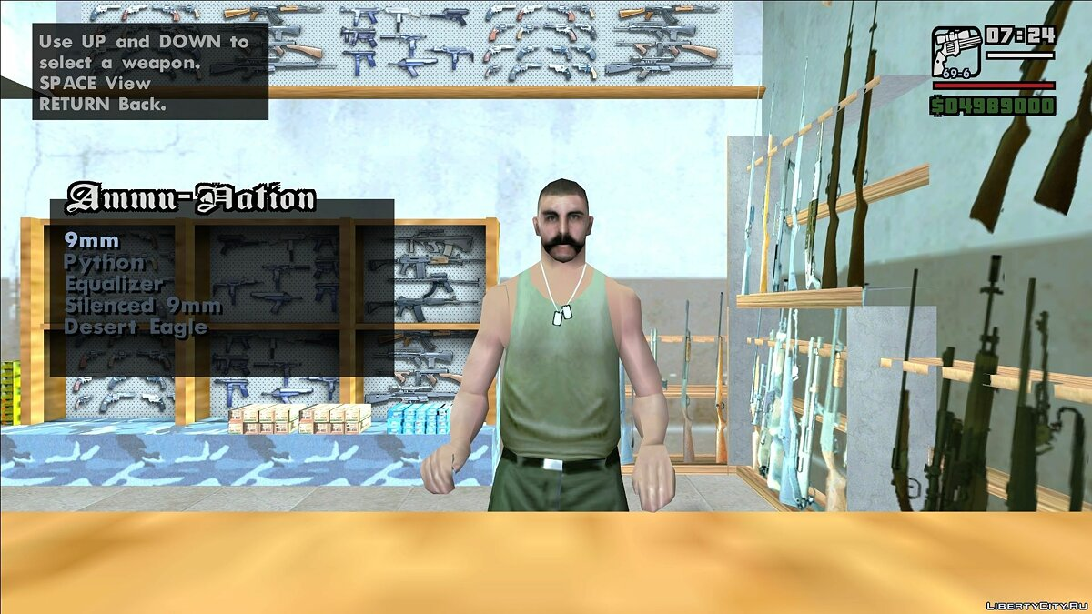 GTA Underground Snapshot 2.1 Patch 8 для GTA San Andreas - скриншот #17