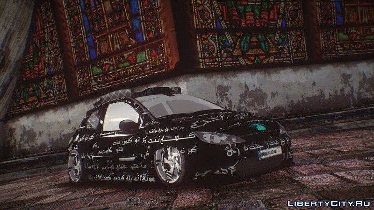 Машина Peugeot Peugeot 206 GTI Tuning (Special edition for Adrian) для GTA San Andreas