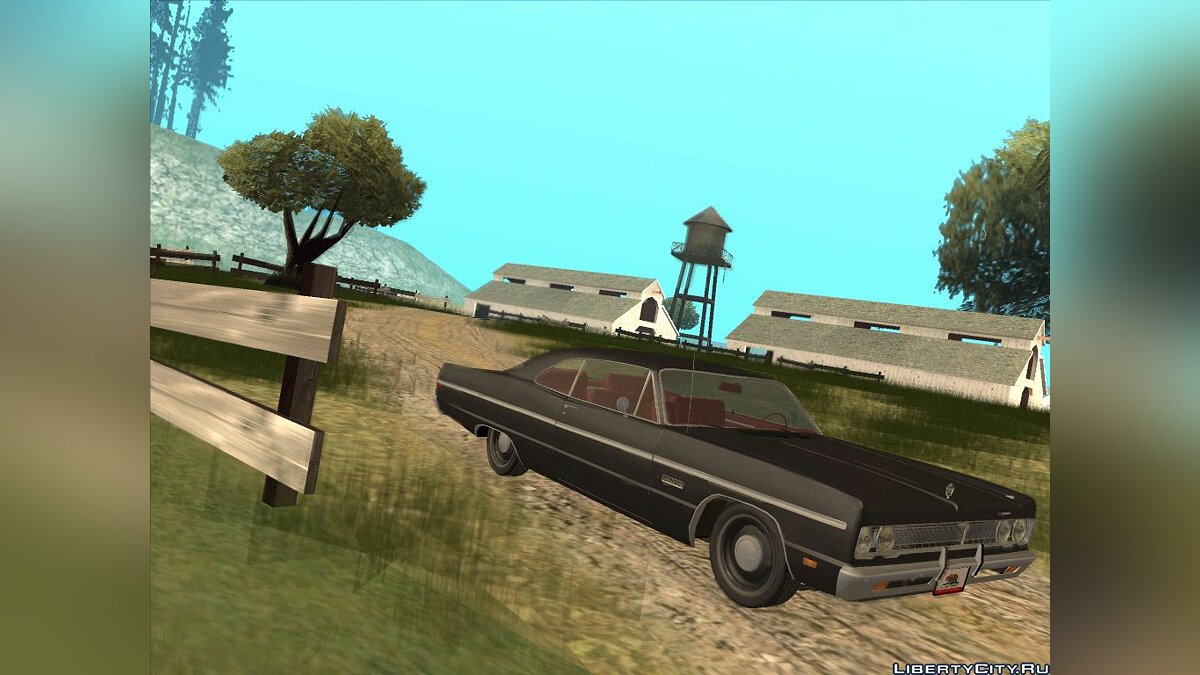 Plymouth Fury III Coupe 1969 для GTA San Andreas
