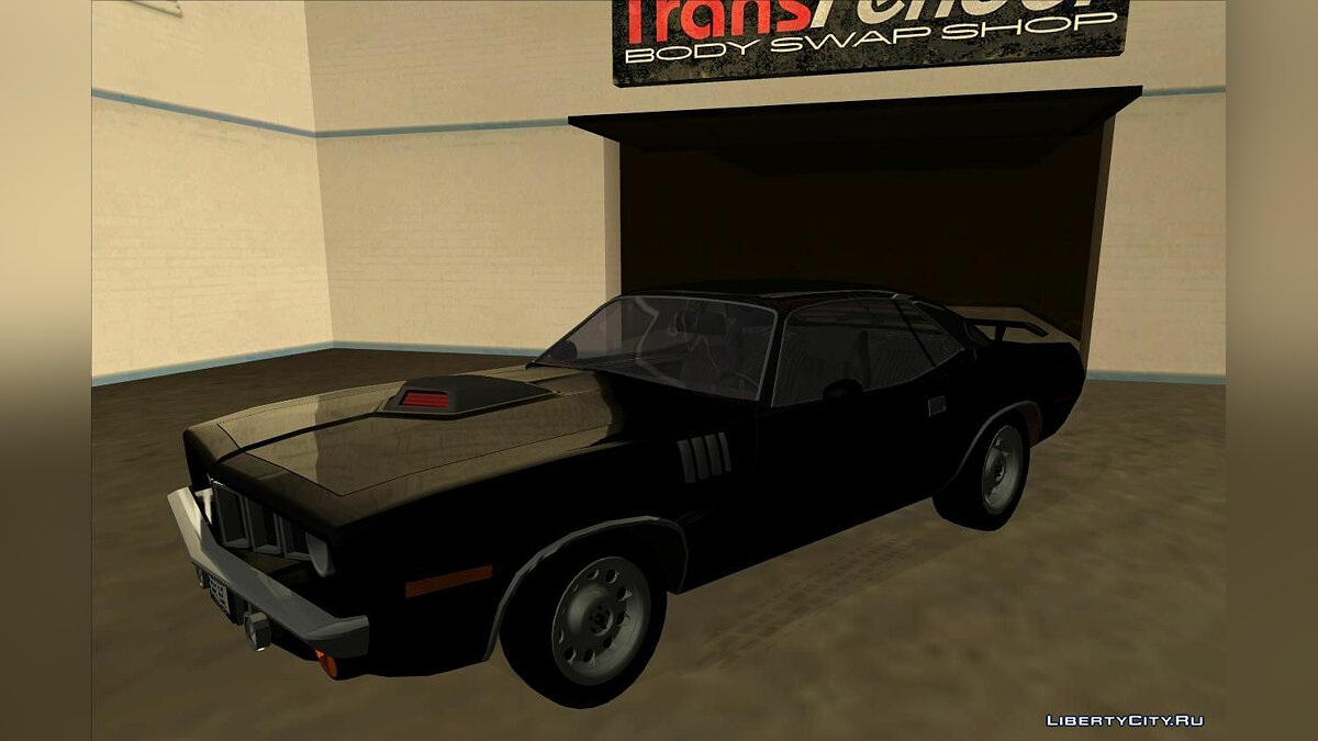 1972 Plymouth Barracuda для GTA San Andreas