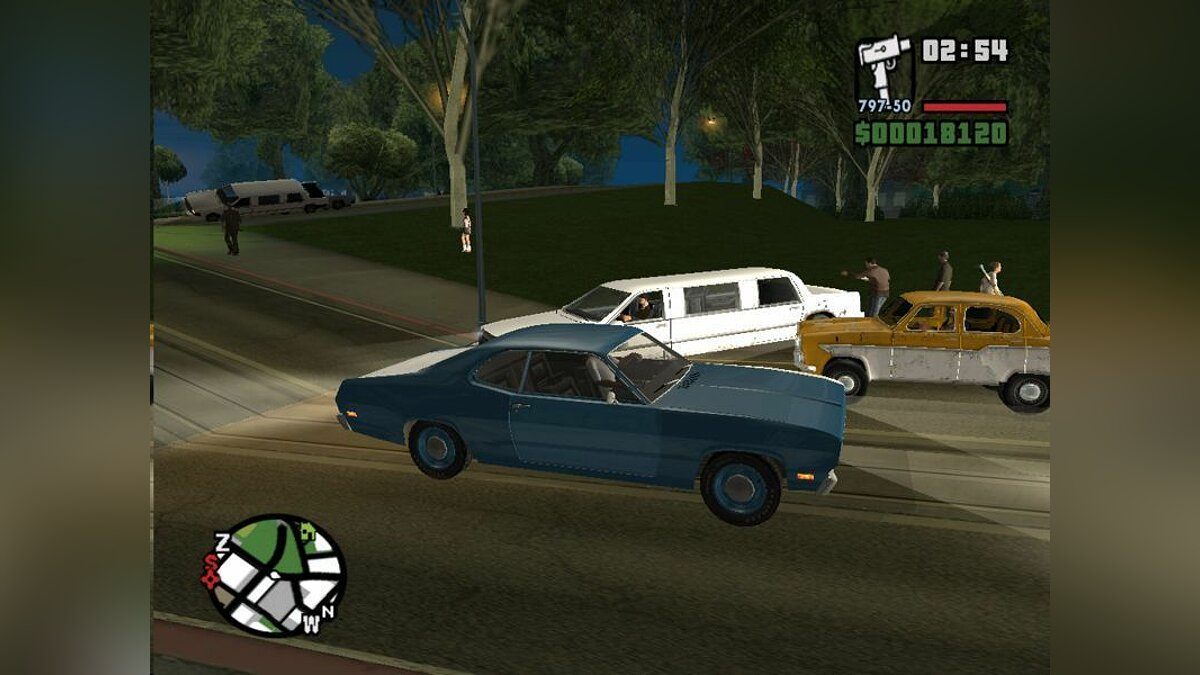 Plymouth Duster 1971 для GTA San Andreas