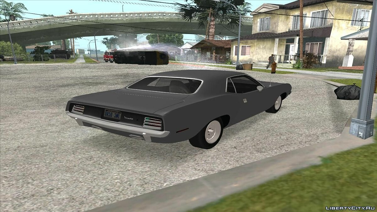 Машина Plymouth Plymouth Barracuda 440 IVF + ADB для GTA San Andreas