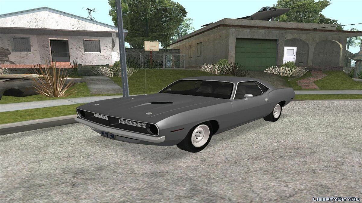 ��ашина Plymouth Plymouth Barracuda 440 IVF + ADB для GTA San Andreas