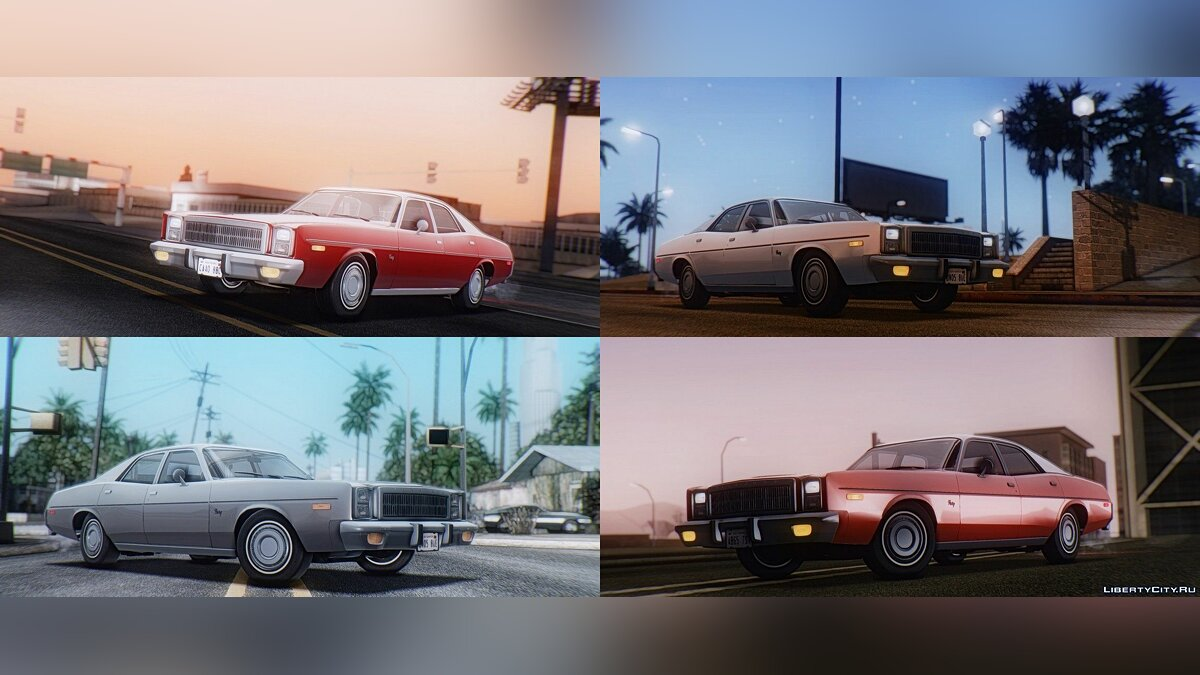 ��ашина Plymouth Plymouth Fury Salon (RL41) 1978 для GTA San Andreas