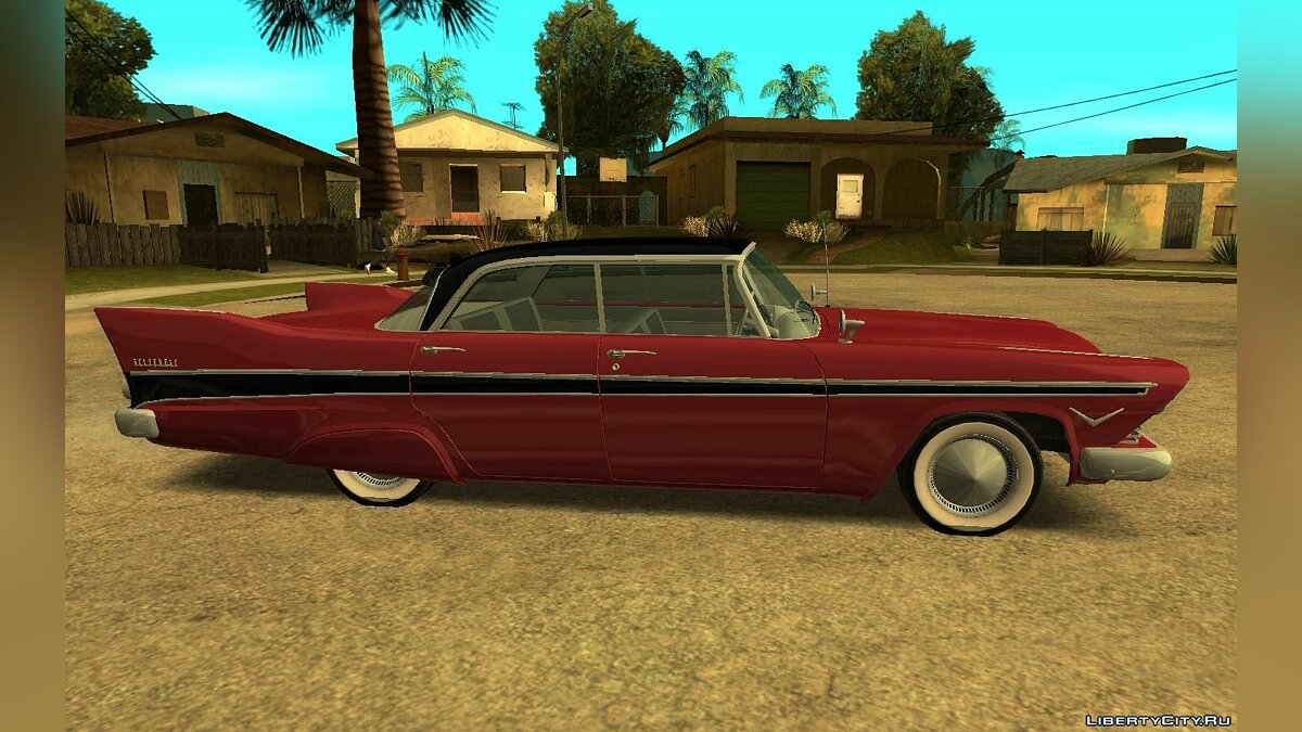 Машина Plymouth 1957 Plymouth Belvedere Sedan (Christine Style) для GTA San Andreas