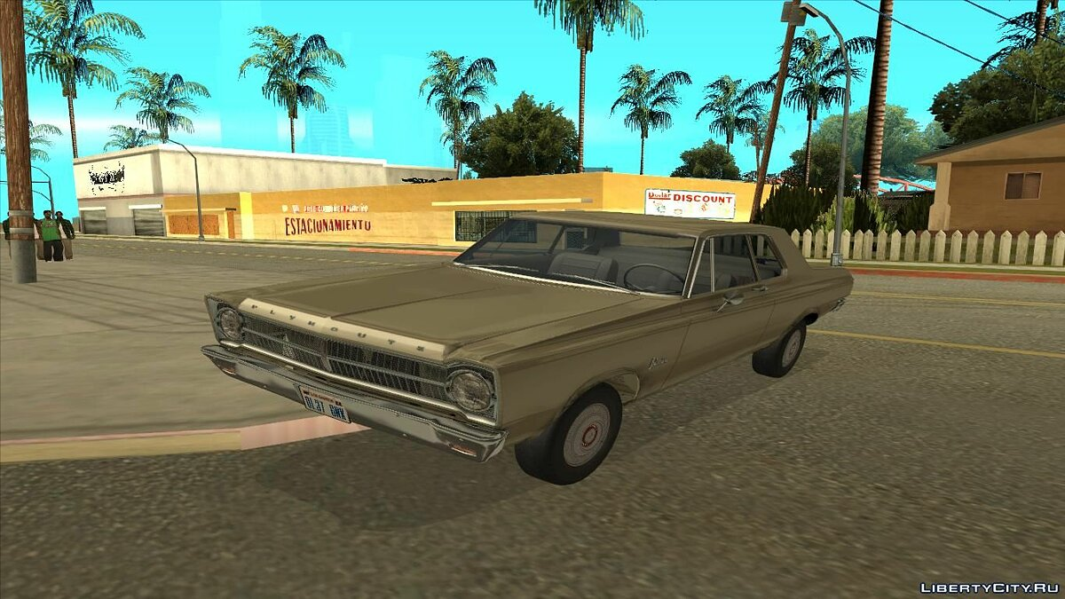 Машина Plymouth Plymouth Belvedere 1965 2-door Sedan для GTA San Andreas
