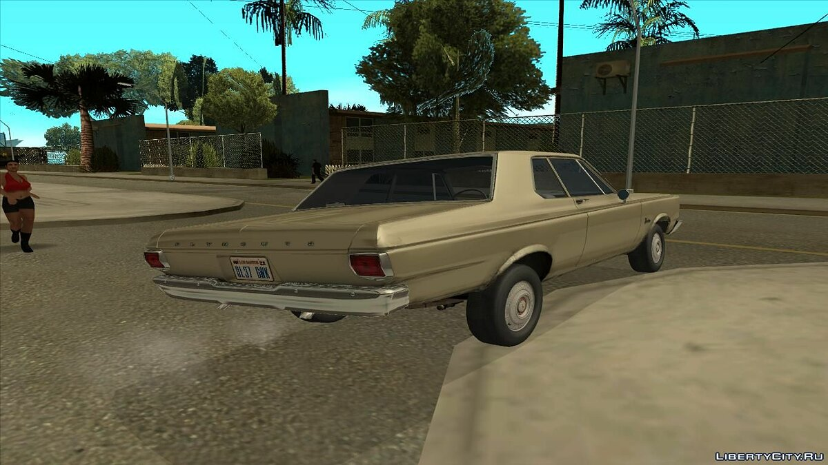 ��ашина Plymouth Plymouth Belvedere 1965 2-door Sedan для GTA San Andreas