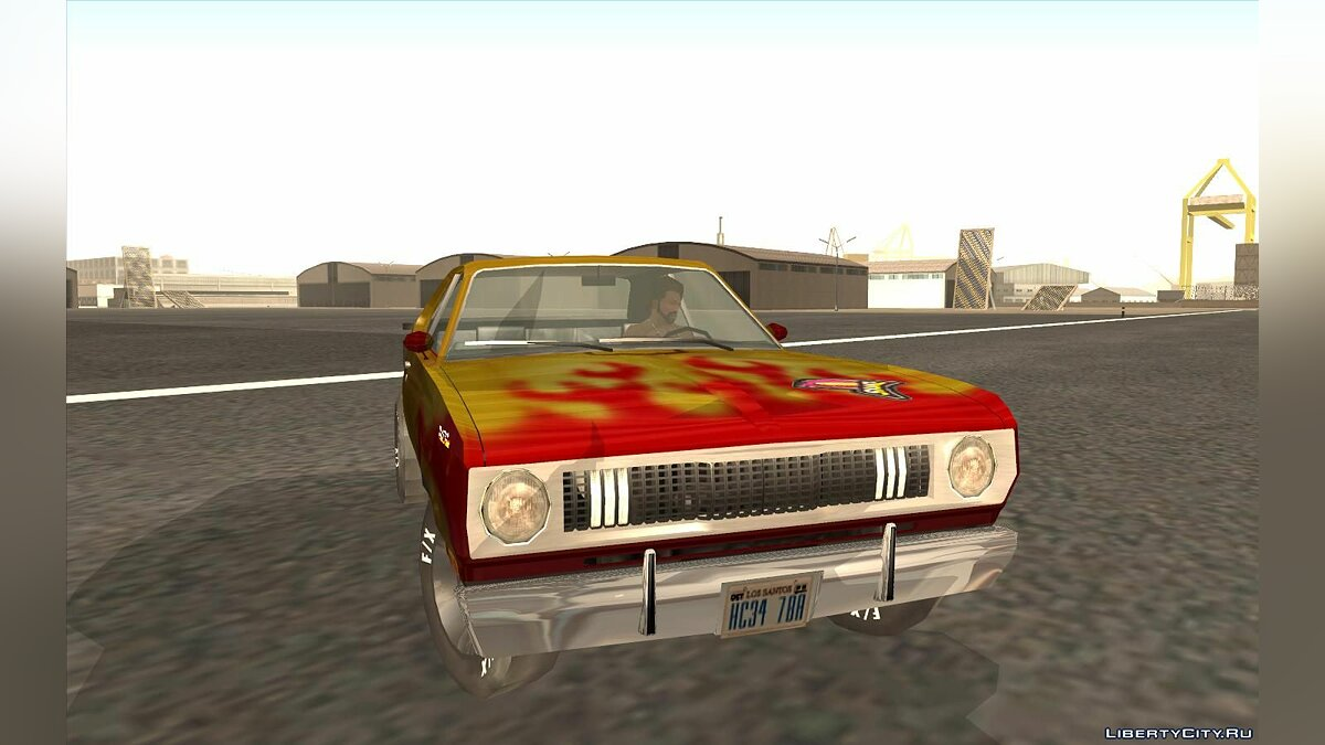 Машина Plymouth Snake Hot Wheels Turbo Racing для GTA San Andreas
