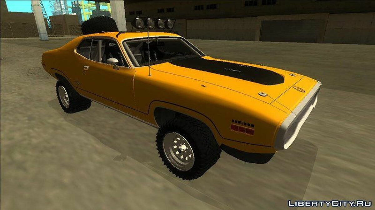 Машина Plymouth Plymouth GTX Rusty Rebel 1972 для GTA San Andreas