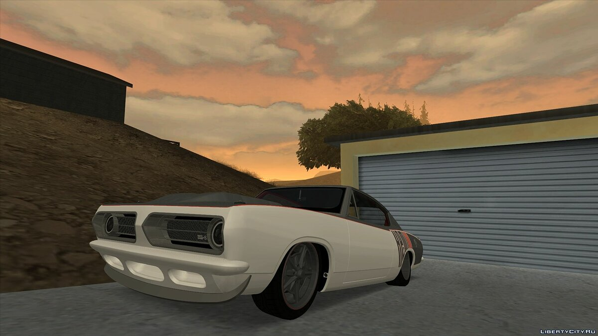 Машина Plymouth Plymouth Formula S Barracuda для GTA San Andreas