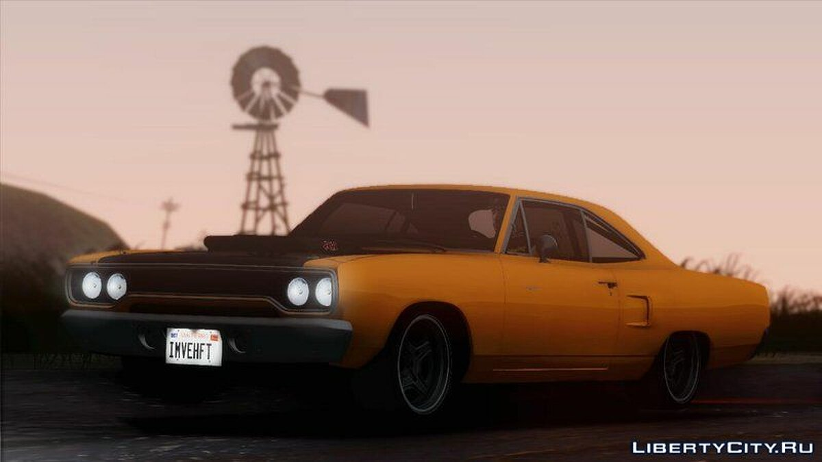 ��ашина Plymouth 1970 Plymouth Road Runner Fast & Furious 7 Edition для GTA San Andreas